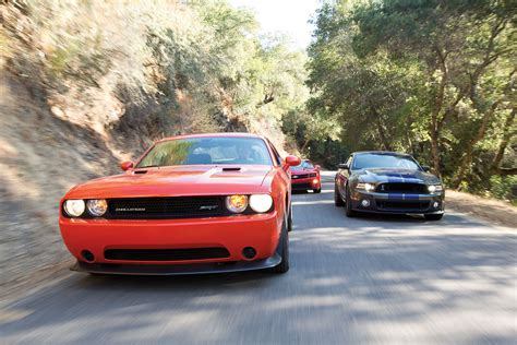 2014 Chevy Camaro Zl1 Vs. Challenger Srt8 Vs. Mustang