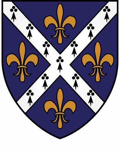 Arms Oxford Coat College St Hughs Svg