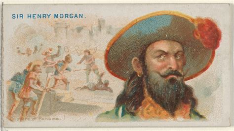 Sir Henry Morgan, Capture Of Panama, From The Pirates