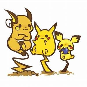 31 best images about Pichu Pikachu Raichu ;) on Pinterest ...