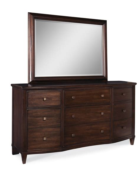 intrigue leather panel bedroom set 12872