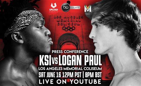 ksi  logan paul fight