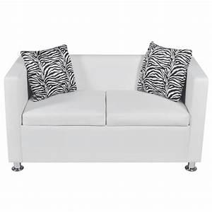 acheter set canape 3 places 2 places et fauteuil cube en With canapé 2 places et fauteuil