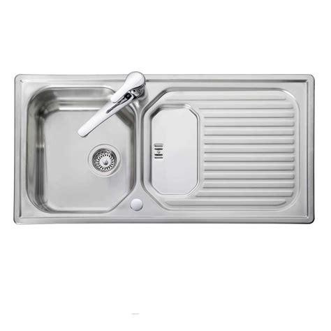 kitchen sink co leisure aqualine aq9851 stainless steel sink kitchen 2626