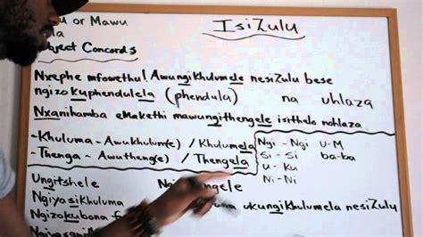 lets learn zulu youtube