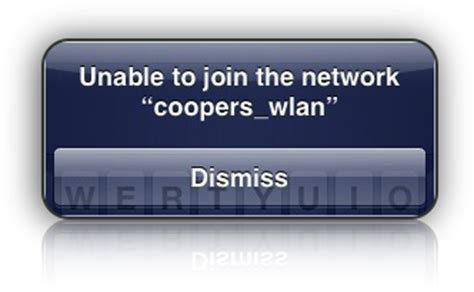 iphone unable to join network iphone 3g quot unable to join the network quot wifi error scoopz