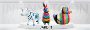 Statue Animaux Design : deco jardin exterieur animaux ~ Teatrodelosmanantiales.com Idées de Décoration