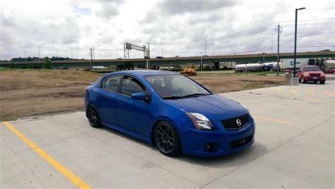 nissan sentra race car purchase used 2011 nissan sentra se r spec v daytona blue
