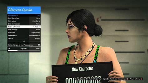 Gta V Online Next Gen New Character Creator Female
