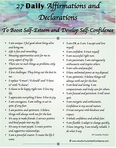 27 Ways To Boost Self Esteem And Develop Self Confidence ...