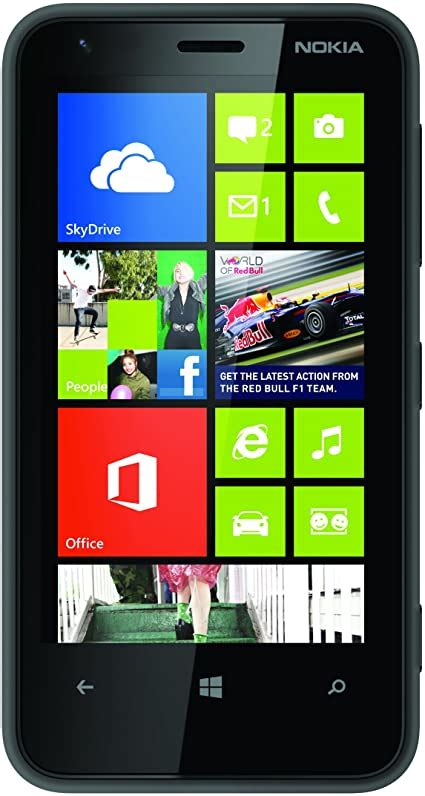 nokia lumia  sim  windows smartphone black