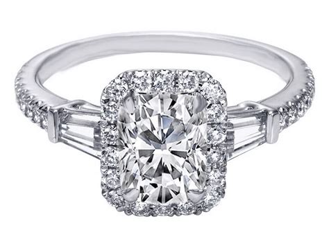 Engagement Ring Cheap White Gold