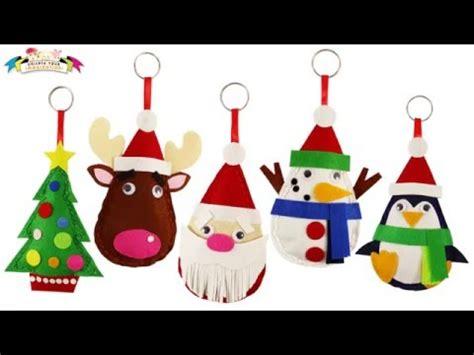 craft work for kids santa felt christmas plushie