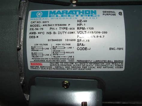 Baldor Motor Furnas Wiring Help