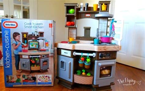 tikes cook  learn smart kitchen  flying couponer