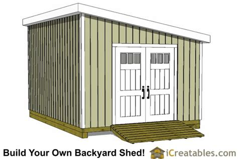 12x24 Portable Shed Plans by 12x24 Lean To Shed Plans Build A Large Lean To Shed