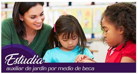inem curso  de auxiliar de jardin de infancia