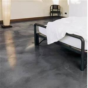 Resine Sol Blanc Brillant : sol en beton ou r sine les sols coul s innovent bons ~ Premium-room.com Idées de Décoration