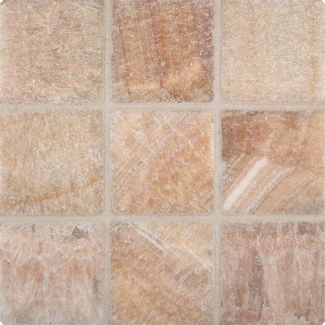tumbled tile giallo crystal onyx 4x4 tumbled tile colonial marble granite
