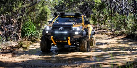 Mitsubishi Triton 4k Wallpapers by Toyota Hilux Tonka Concept Revealed