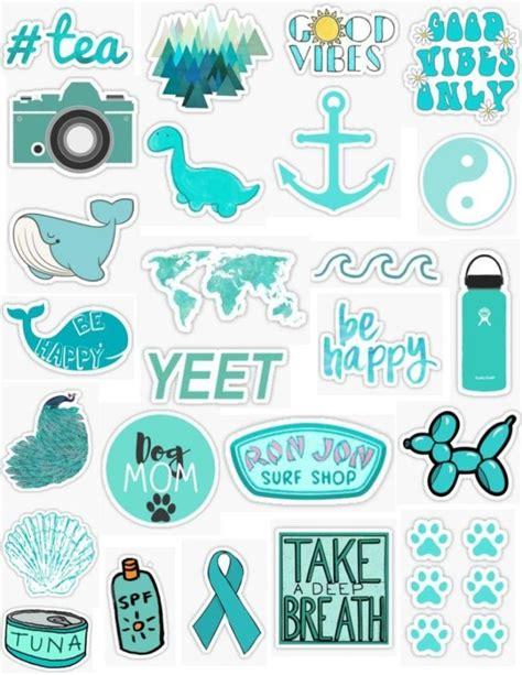 turquoise sticker pack sticker by lauren53103 iphone