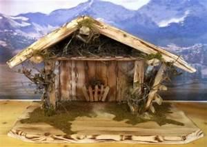Weihnachtskrippe Holz Selber Bauen : krippenstall bausatz aus holz weihnachtskrippe selber bauen in bayern seeg basteln ~ Buech-reservation.com Haus und Dekorationen