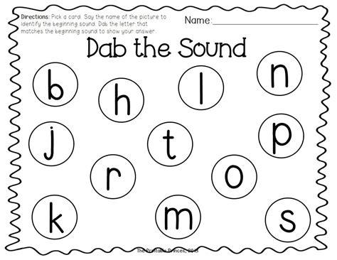 Bingo Dabbers Digraphs Kindergarten Phonics