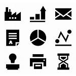 Icon Graph Bar Icons Vector Business Clipart