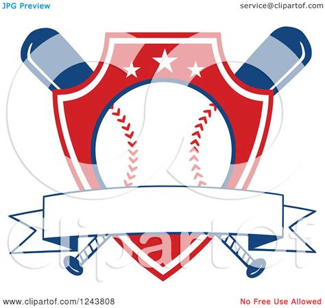 Download free and premium icons for web design, mobile application, and other graphic design work. Clipart of Crossed Bats and a Red Baseball Shield with a ...