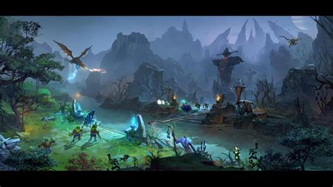 3d Wallpapers 2 by Dota 2 Artwork Dire