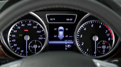 tire pressure monitoring system    mercedes