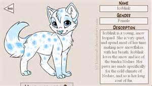cat maker kitten creator iceblink by roxas keyofdestiny on deviantart