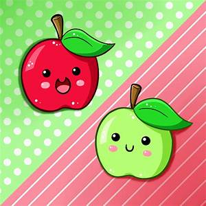 Cute Food- Apples by PPGxRRB-FAN on DeviantArt