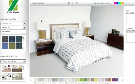 simulation peinture chambre adulte simulation de peinture pour chambre wikilia fr
