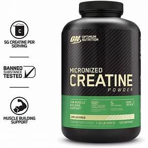 Optimum Nutrition Micronized Creatine Powder  120 Servings - Walmart Com