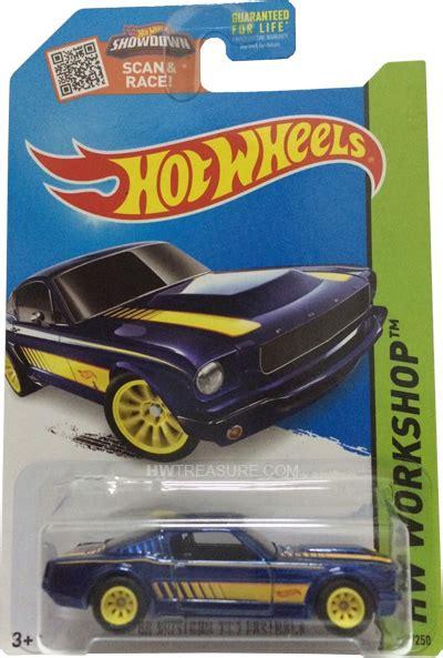 mustang   fastback hot wheels  super treasure