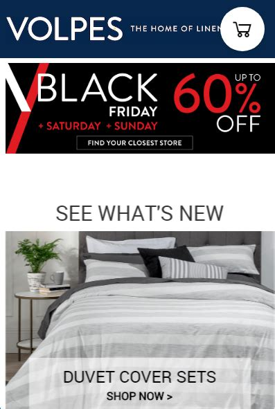 volpes black friday deals  nov   nov