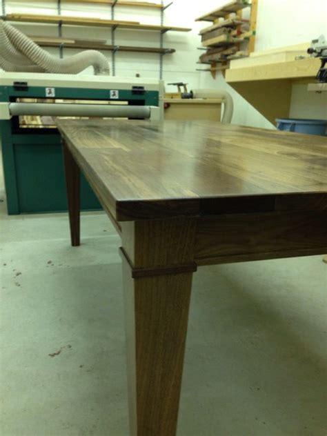 walnut dining room table  jeff tobert  lumberjocks