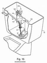 Toilet Bowl Drawing Patents Tank Getdrawings Valve Float Assembly Overflow Water Claims Fill sketch template