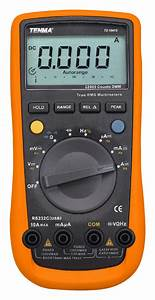 Tenma Manual  U0026 Auto Ranging Digital Multimeter For Ac  Dc