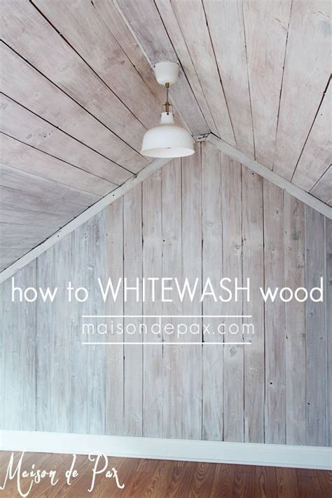 86 best Whitewash Finishes images on Pinterest