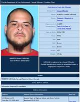 Flordia sexual assault registery
