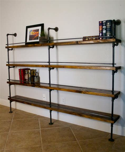 wall mountable clothes industrial shelving unit industrial bar industrial