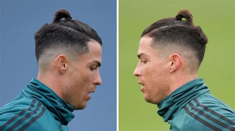men hairstyle ronaldo  champions league cristiano