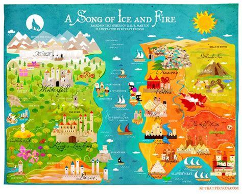Carte Monde Of Thrones by Carte Monde Of Thrones Cosprocare