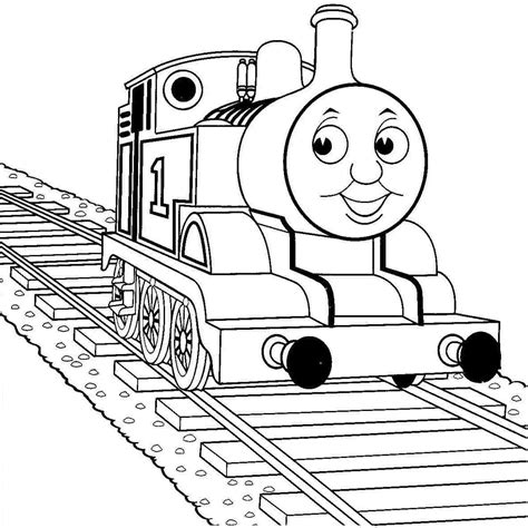 Tank Engine Coloring Pages Tank Free Engine Image For