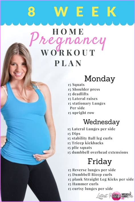 pregnancy pregnant exercises exercise workout routine ladies while plan week workouts prenatal program leg kind months plans weight fitness monthly