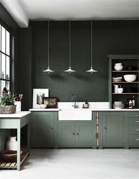 green kitchen design ideas cuisine moderne 25 cuisines contemporaines pour vous 4012