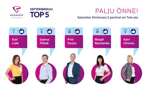 Septembri TOP5 - Epicenter