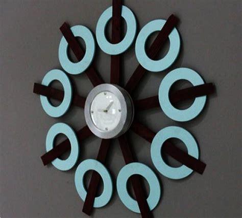 funky wall clock design ideas personalizing interior